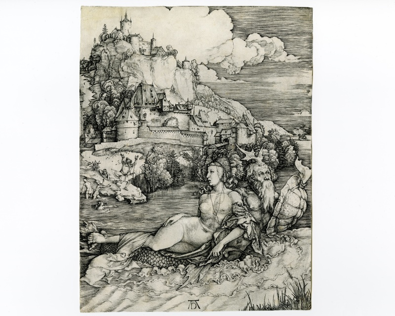 durer albrecht sea monsters dolphins kings of France