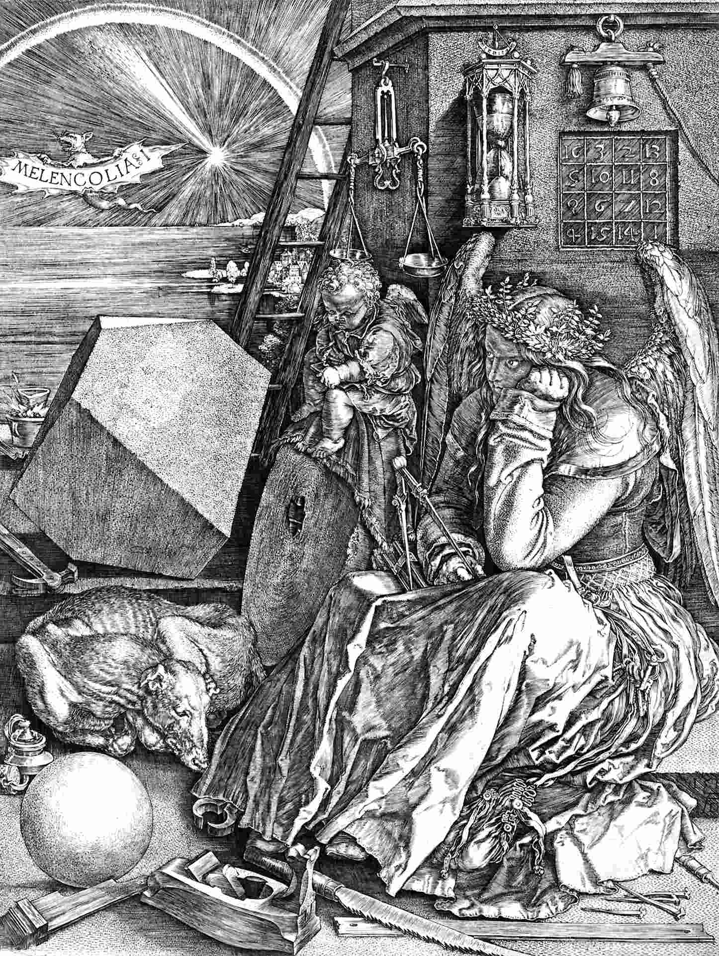 Image result for melancholia durer
