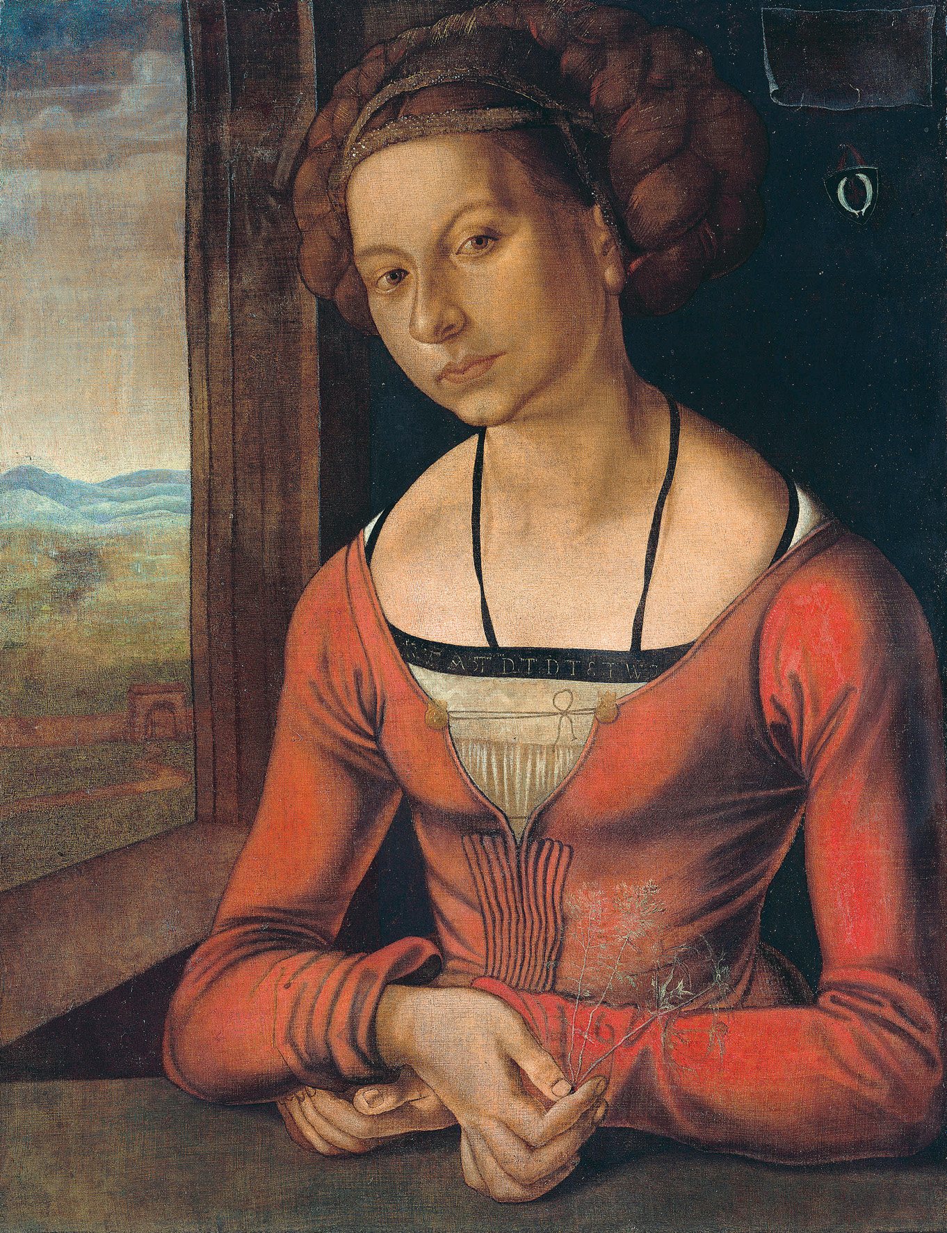 durer albrecht sex cipher ranissance girl with hair up, michaelangelo